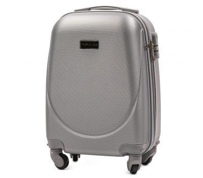 Дорожный чемодан для ручной клади Wings Goose 310K мини серебряный