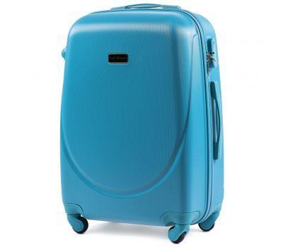 Дорожный чемодан на колесах Wings Goose 310K средний голубой