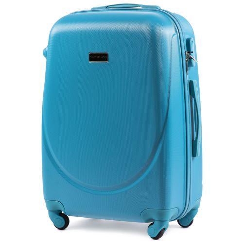 Комплект дорожных чемоданов на колесах Wings Goose 310K 4в1 голубой