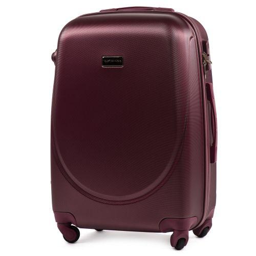Комплект дорожных чемоданов на колесах Wings Goose 310K 4в1 бордовый