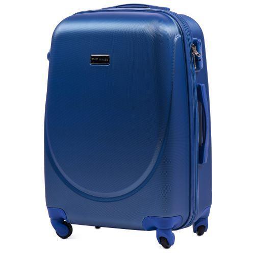 Комплект дорожных чемоданов на колесах Wings Goose 310K 4в1 middle blue