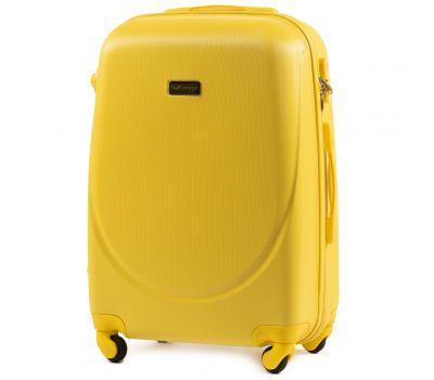 Дорожный чемодан на колесах Wings Goose 310K средний желтый