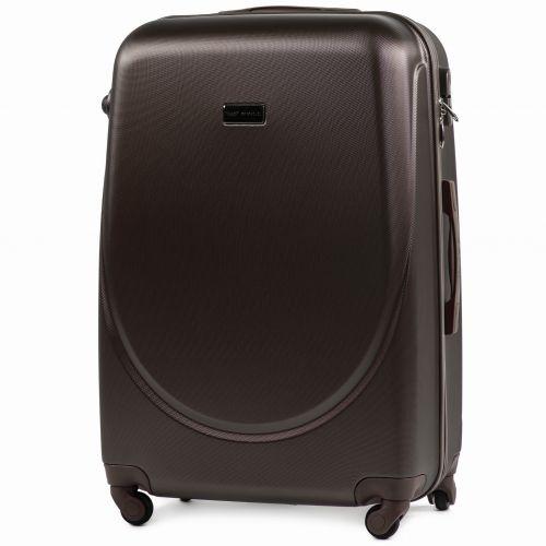 Комплект дорожных чемоданов на колесах Wings Goose 310K 3в1 кофейный