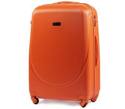 Дорожный чемодан на колесах Wings Goose 310K большой оранжевый