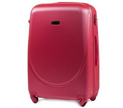 Дорожный чемодан на колесах Wings Goose 310K большой розовый