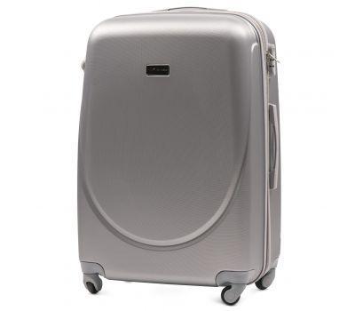 Дорожный чемодан на колесах Wings Goose 310K большой серебряный