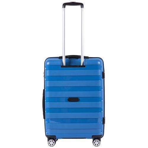 Полипропиленовый чемодан Wings Hawk PP07 средний голубой