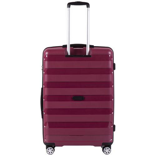 Полипропиленовый чемодан Wings Hawk PP07 большой бордовый