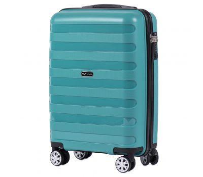 Полипропиленовый чемодан Wings Hawk PP07 маленький мятный