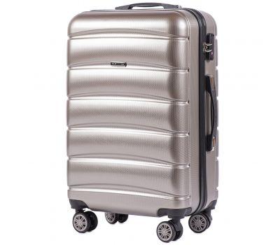 Поликарбонатный чемодан Wings Iberian 160 средний бронзовый
