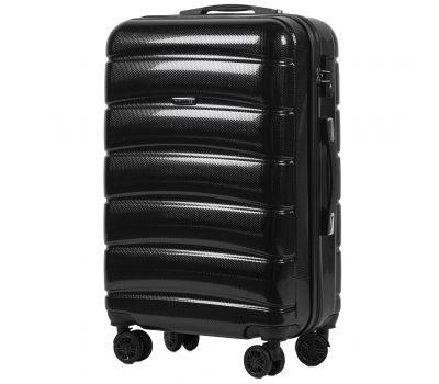 Поликарбонатный чемодан Wings Iberian 160 средний черный