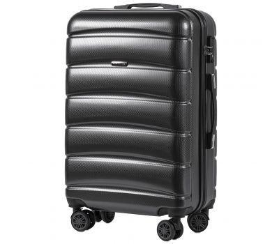 Поликарбонатный чемодан Wings Iberian 160 средний серый