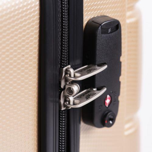 Поликарбонатный чемодан Wings Iberian 160 маленький серый