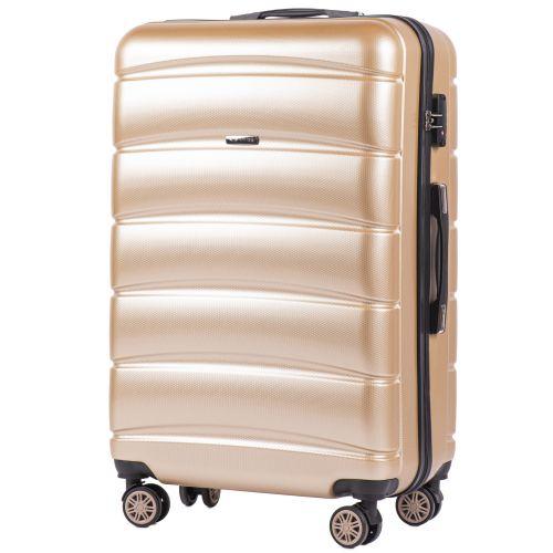 Набор чемоданов из поликарбоната Wings Iberian 160 3 штуки шампань