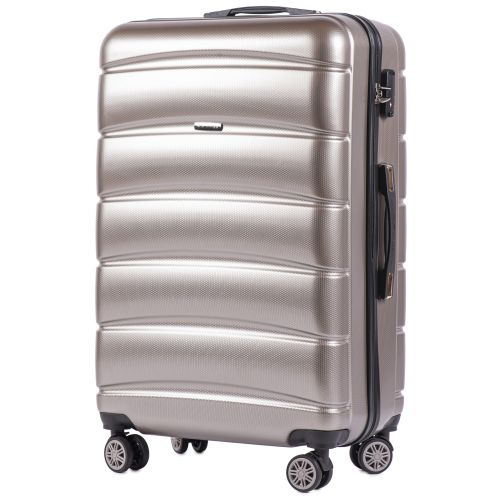 Набор чемоданов из поликарбоната Wings Iberian 160 3 штуки бронзовый