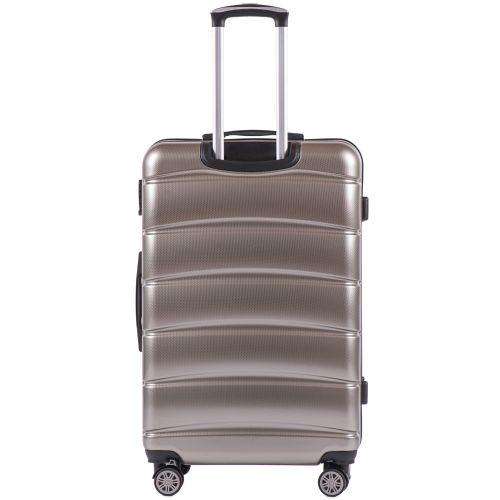 Поликарбонатный чемодан Wings Iberian 160 большой бронзовый