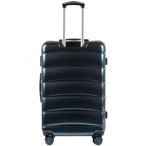 Поликарбонатный чемодан Wings Iberian 160 средний изумрудный