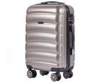 Поликарбонатный чемодан Wings Iberian 160 маленький бронзовый