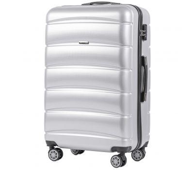 Поликарбонатный чемодан Wings Iberian 160 большой серебряный