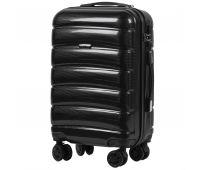 Поликарбонатный чемодан Wings Iberian 160 маленький черный