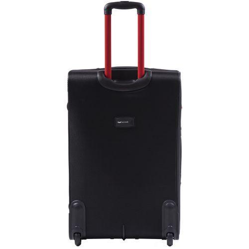 Мягкий чемодан Wings Junco 214 большой на 2-х колесах черный