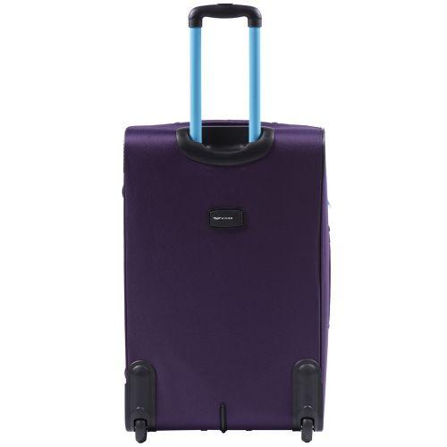 Мягкий чемодан Wings Junco 214 большой на 2-х колесах фиолетовый