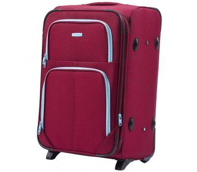 Мягкий чемодан Wings Junco 214 средний на 2-х колесах бордовый