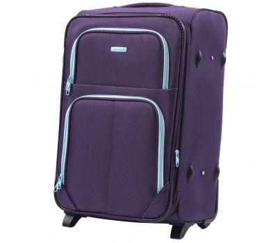 Мягкий чемодан Wings Junco 214 средний на 2-х колесах фиолетовый