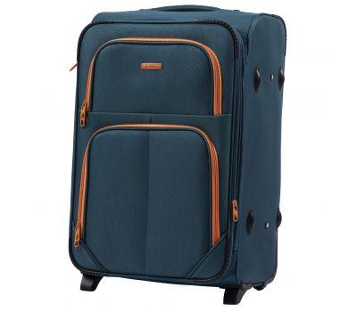 Мягкий чемодан Wings Junco 214 средний на 2-х колесах зеленый