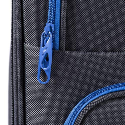 Набор мягких чемоданов Wings Junco 214 3 штуки на 2-х колесах фиолетовый