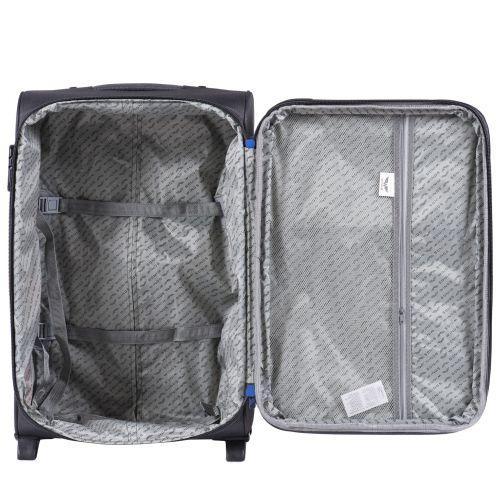 Мягкий чемодан Wings Junco 214 большой на 2-х колесах зеленый