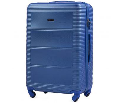 Дорожный чемодан на колесах Wings Linnet 203 большой middle blue