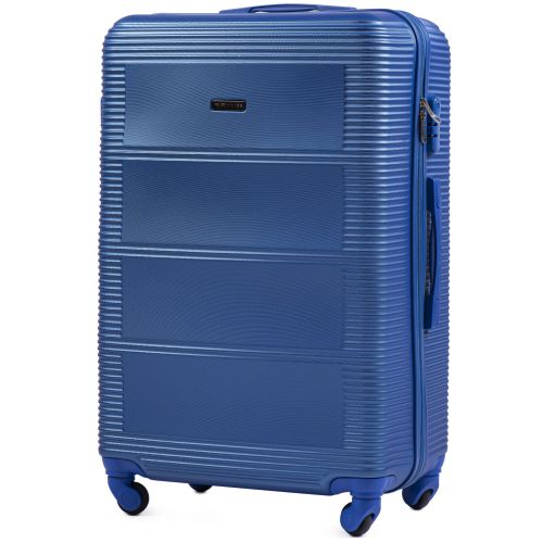 Комплект дорожных чемоданов на колесах Wings Linnet 203 4в1 middle blue