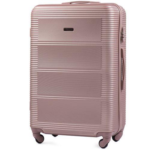 Комплект дорожных чемоданов на колесах Wings Linnet 203 3в1 розовое золото