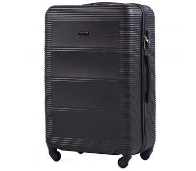 Дорожный чемодан на колесах Wings Linnet 203 большой серый