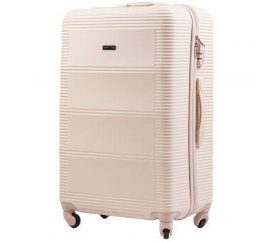Дорожный чемодан на колесах Wings Linnet 203 большой ванильный