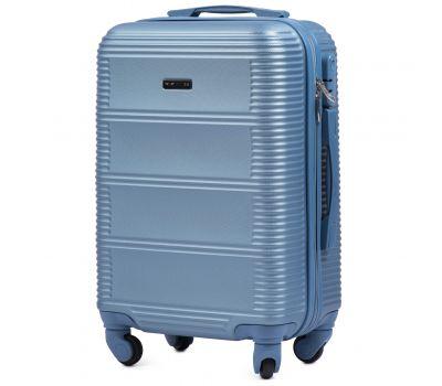 Дорожный чемодан на колесах Wings Linnet 203 маленький голубой