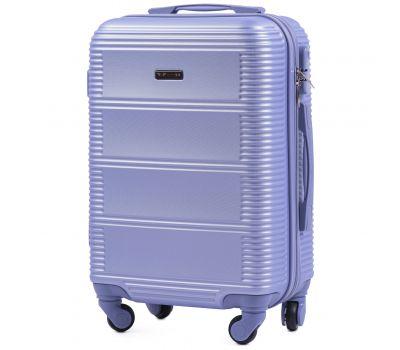 Дорожный чемодан на колесах Wings Linnet 203 маленький светло-фиолетовый