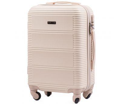 Дорожный чемодан на колесах Wings Linnet 203 маленький ванильный