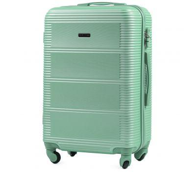 Дорожный чемодан на колесах Wings Linnet 203 средний мятный