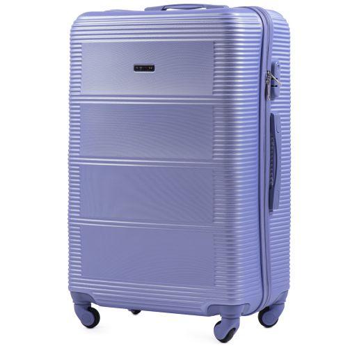 Комплект дорожных чемоданов на колесах Wings Linnet 203 3в1 светло-фиолетовый