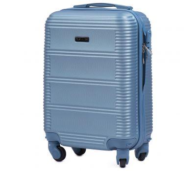 Дорожный чемодан для ручной клади Wings Linnet 203 мини голубой