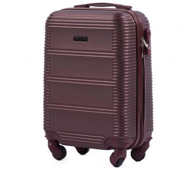 Дорожный чемодан для ручной клади Wings Linnet 203 мини бордовый