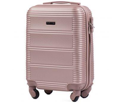 Дорожный чемодан для ручной клади Wings Linnet 203 мини розовое золото