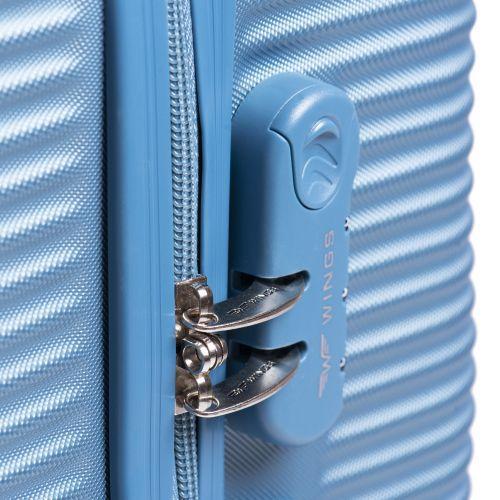 Дорожный чемодан на колесах Wings Linnet 203 маленький мятный