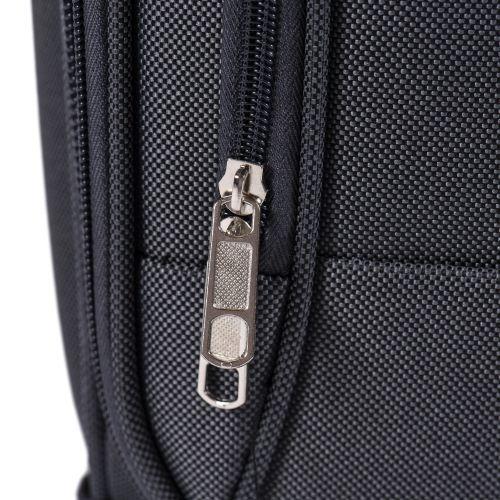 Тканевый чемодан Wings Little Owl 1609-4M средний на 4-х колесах красный