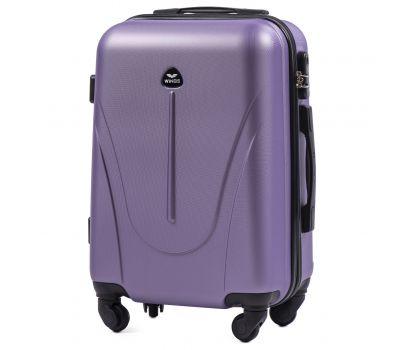 Пластиковый чемодан на колесах Wings Macaw 888 маленький фиолетовый