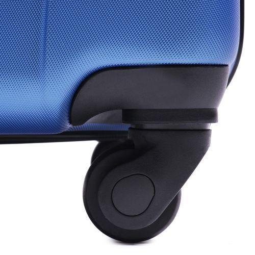 Набор пластиковых чемоданов на колесах Wings Macaw 888 3в1 фиолетовый