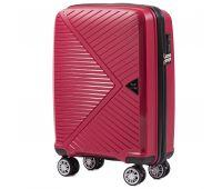 Полипропиленовый чемодан Wings Mallard PP06 маленький красный