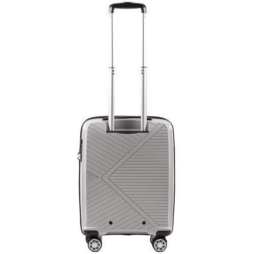 Полипропиленовый чемодан Wings Mallard PP06 маленький серебряный